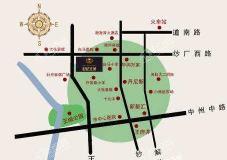 大悦城位置图