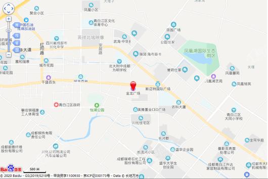金龙广场(金龙HOMEPARK)交通图