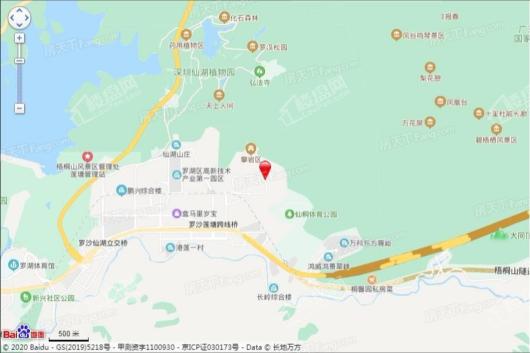 东方凤雅名苑交通图