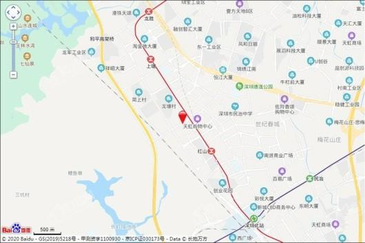 龙光玖悦台交通图