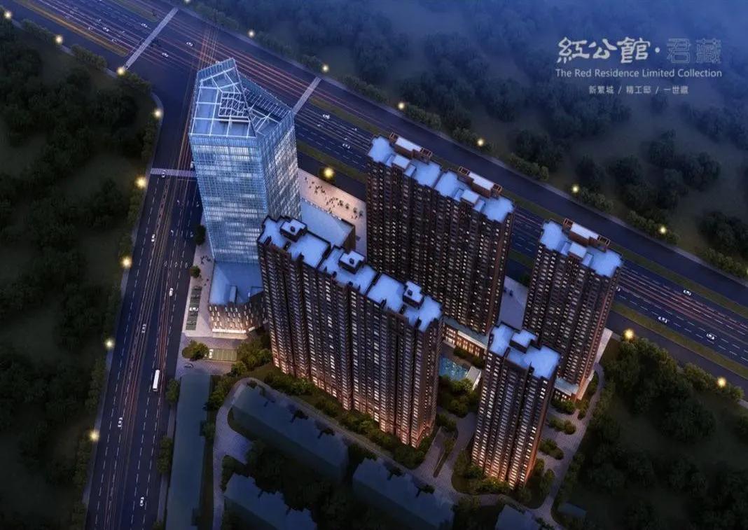 万江共和新城效果图