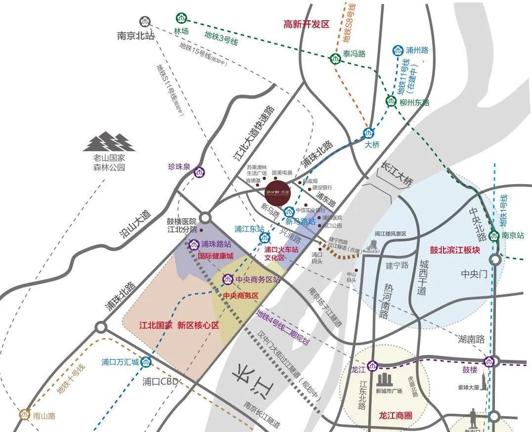 万江共和新城位置图