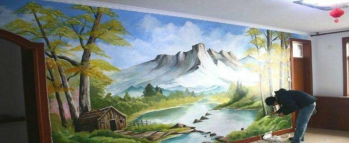 墙体彩绘价格大概是多少