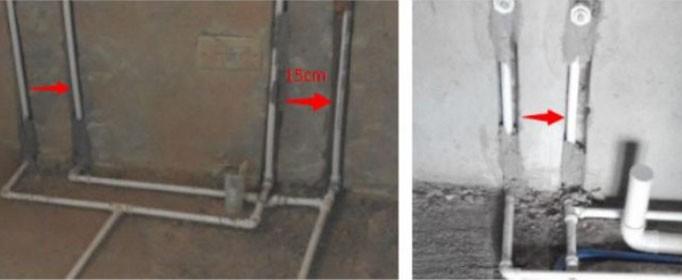 冷热水管怎么安装才合适