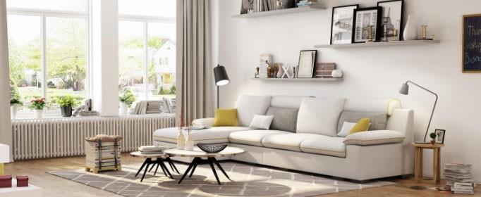 如何对布艺沙发进行清洁?