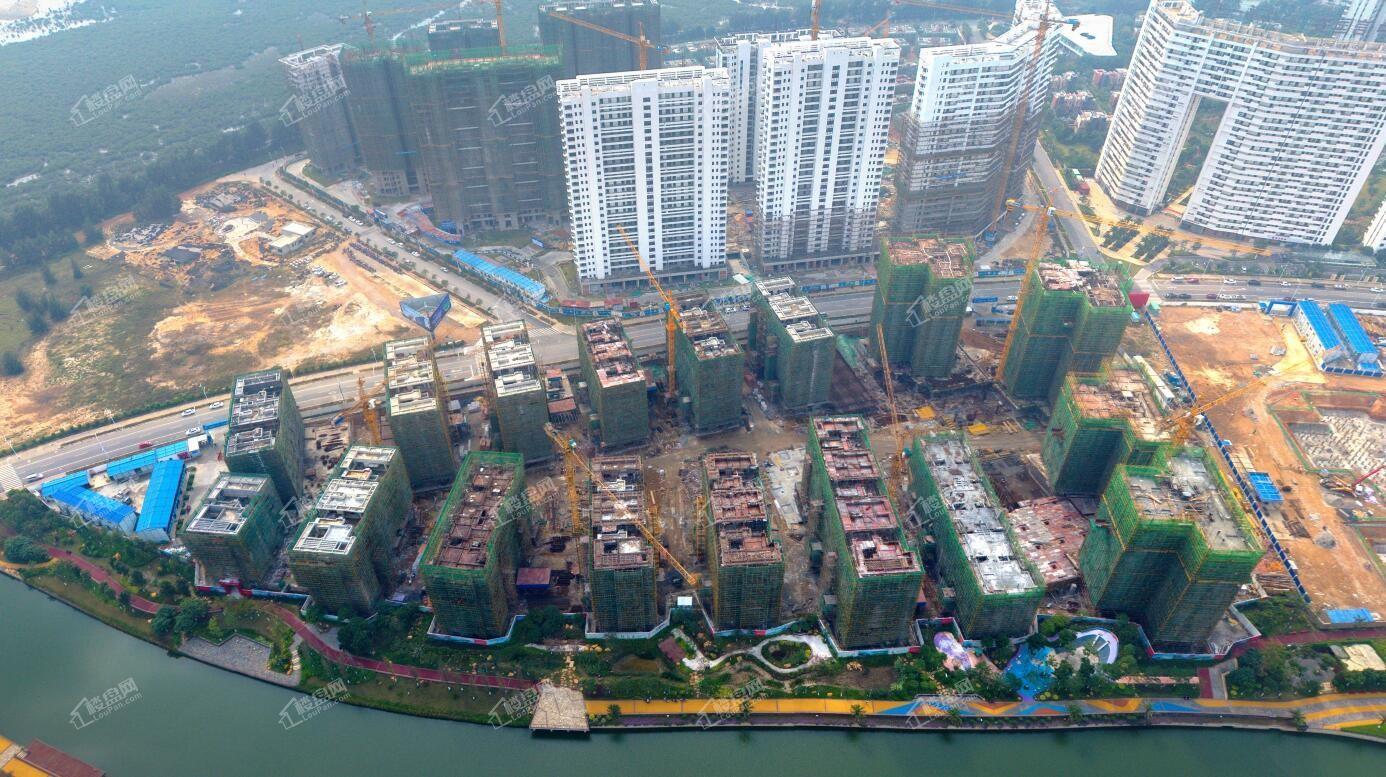 中信国安·北海第一城第三块地施工实景图