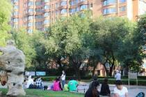 哈尔滨终于到了万物复苏的春天,来看看这个建在公园里的小区吧!