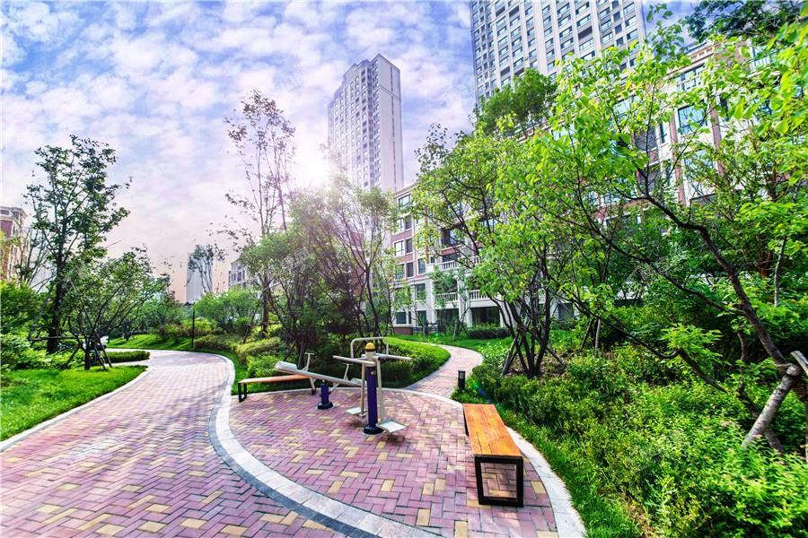 中海城园区实景