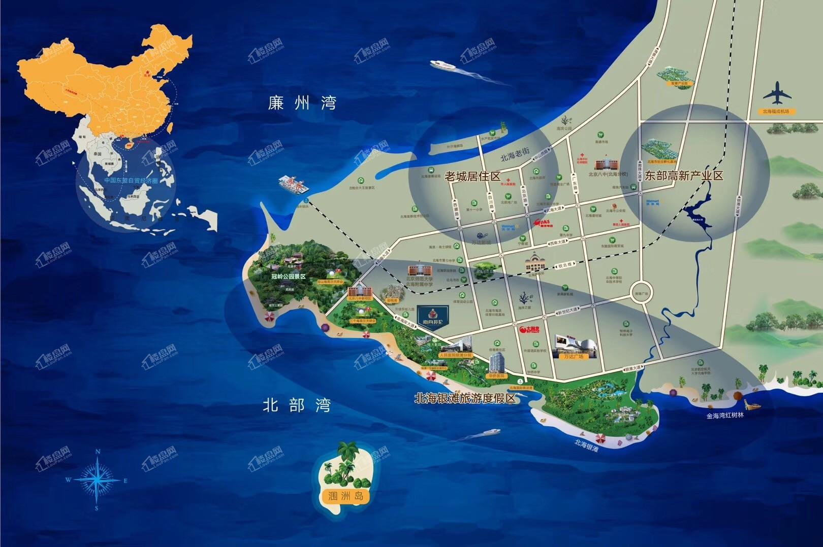 海尚英伦区位图