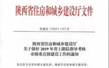 2019年陕西省上跟踪指导考核的市级重点镇名单公布!