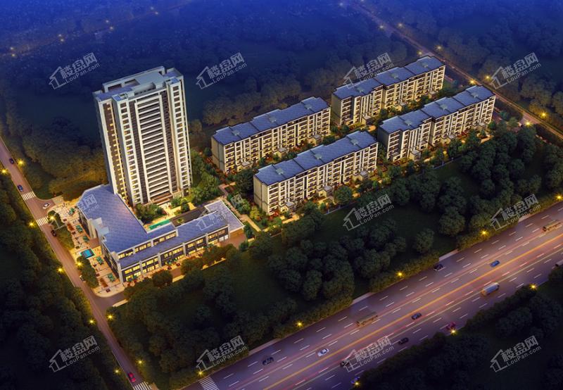 龙湖春江天玺项目项目规划效果图