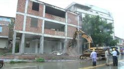 """敲下""""第一锤""""!晋江高铁新区项目二期房屋拆除提前开展!"""