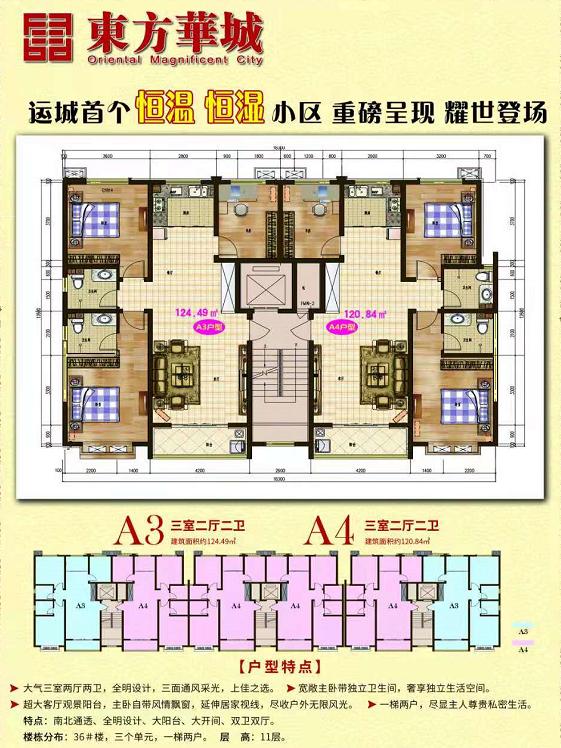 东方华城户型图
