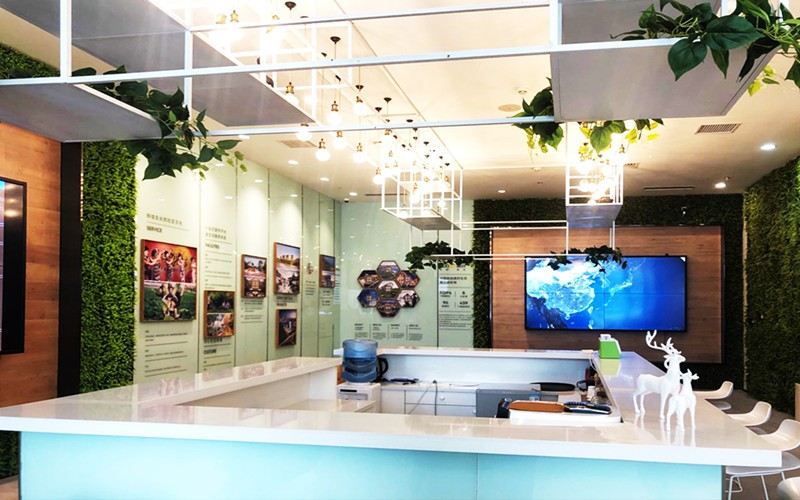 融创盛京宸院项目浑南展厅实景图