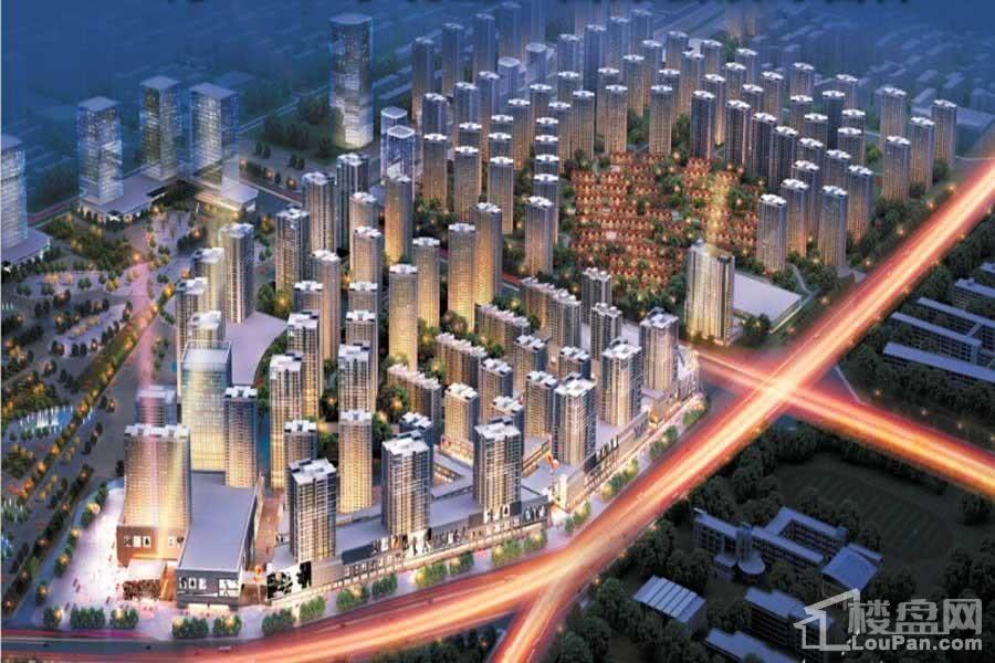 奥园国际城效果图