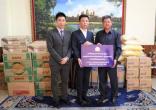 太子地产慈善基金会携手太子大酒店向西港省政府捐赠价值3万美元救灾物资
