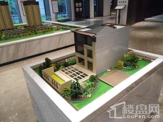 招商雍景湾别墅模型图