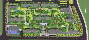 看了财富中心北区私藏的超3万方中央园林,瞬间被治愈了