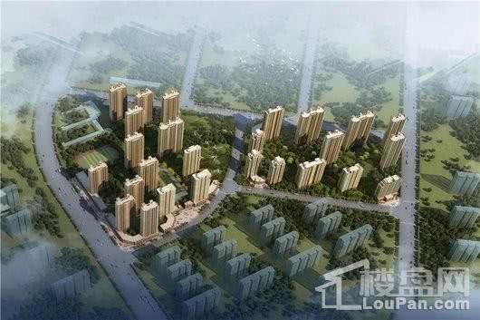 泰盈十里锦城项目鸟瞰图