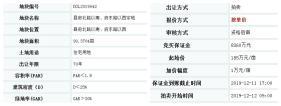 都昌县府北路以南,用于住宅宗地,于12.12开拍了