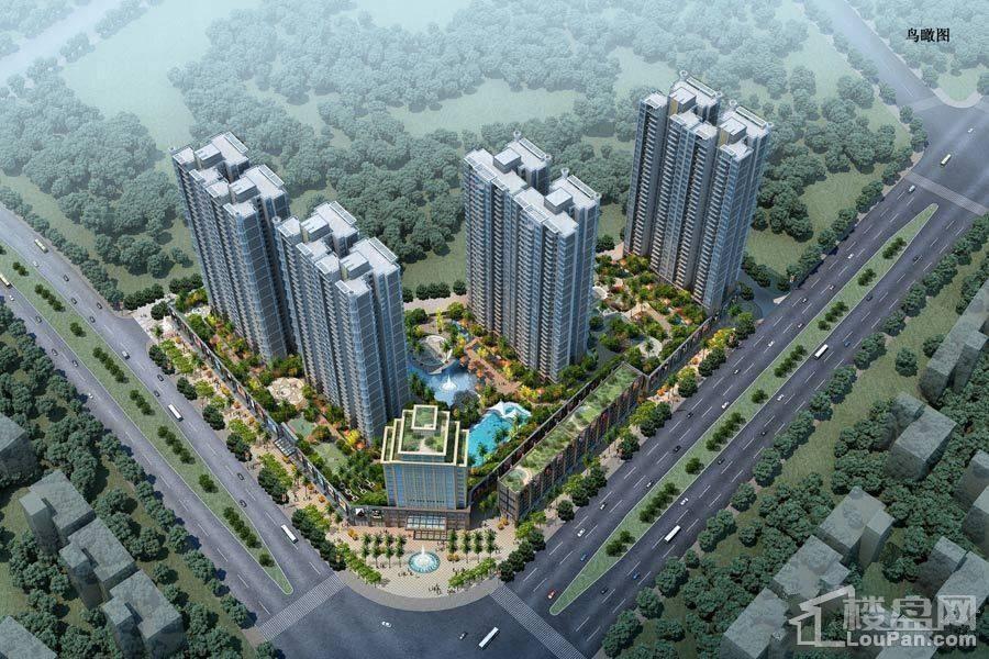 鹤山骏景湾豪庭剩余少量顶楼复式,毛坯6800元/㎡起。