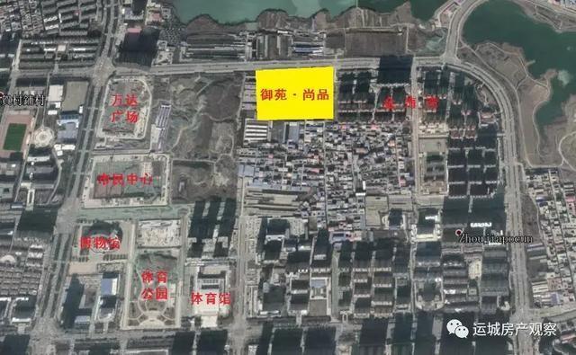 运城东区一新楼盘规划公示,位置紧邻万达广场