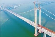 南沙大桥连接的四座城市在粤港澳大湾区规划中占重要地位