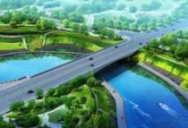 邵东县公园路桥建设火热施工