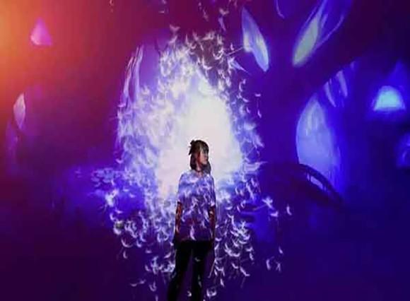 """全球十大必看展览之一的""""黑科技""""光影展空降怀化岳麓青城"""