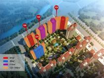 均价约10960元/㎡!隆盛御湖湾沁园186套住宅即将入市!