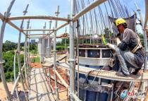 预计2022年通车!福厦高铁草洪塘特大桥建设持续推进
