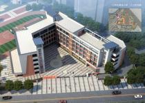 封顶啦!江南花园城配建小学建设有新进展 9月将竣工!