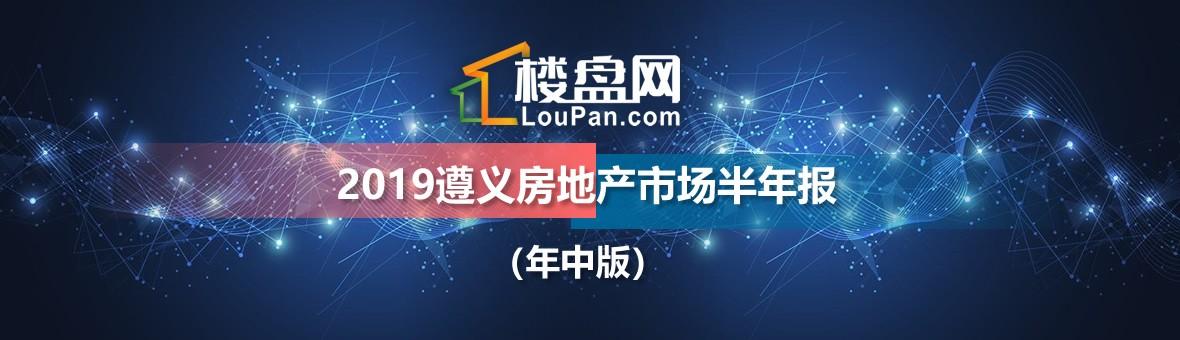 2019遵义房地产市场半年报(年中版)