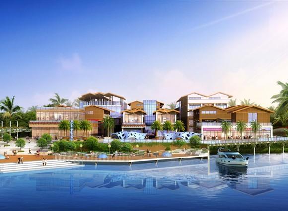总投资12亿的冠岭旅游综合体项目现在建的怎么样了?
