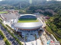 预计8月底全面完工!晋江足球公园来啦!