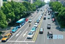 邵阳车主请注意,这里的道路标线变了!