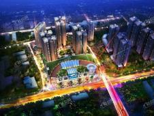 天悦中央广场——移步换景,悦享森林生活