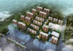 长清区一城中村改造安置房规划有进展,安置居住人口近2000人