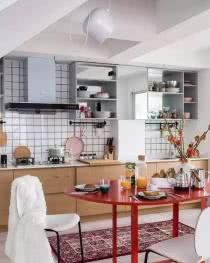 看日本的厨房规划 整洁度和实用度都值得学习!