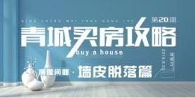 青城买房攻略第二十期:(房屋问题:墙皮脱落篇)