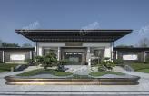 新中式别墅,碧桂园信鸿·铜雀台