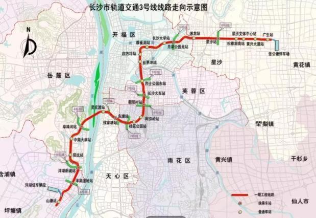 地铁3号线、5号线建设加速进行时 力争年底通车试运行