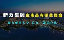 新力集团在南昌有哪些楼盘?新力项目大全盘点