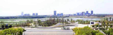 """又添一片""""城市绿肺"""",儒乐湖滨江公园预计年底全面开园!"""