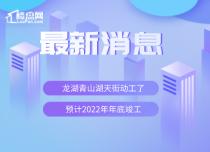 【楼盘网早报2019.10.29】龙湖青山湖天街动工了