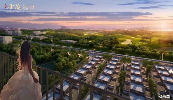 【清溪金茂逸墅】优选一线临深 中国最美小镇之上的生态墅居