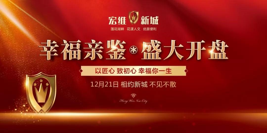 阳新房产:倾城共鉴,宏维·新城12月21日盛大开盘!