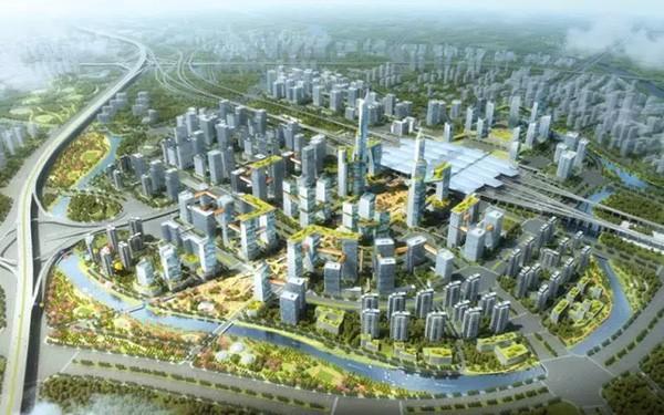 广州南站最新规划出炉:打造世界最好火车站!