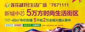 阳新房产:感恩回馈季——莲花1号生活广场美食嘉年华