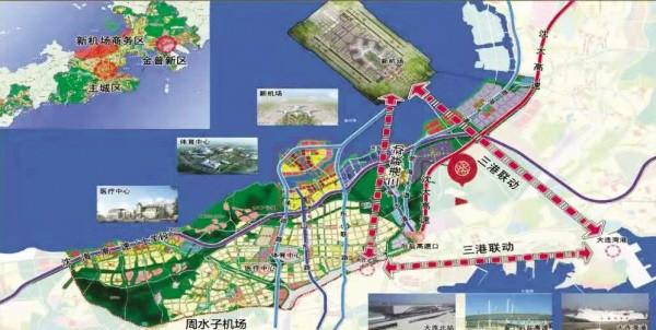 新机场沿岸商务区已投资97亿